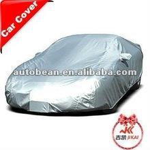 OEM heatproof silver coating polyester car cover