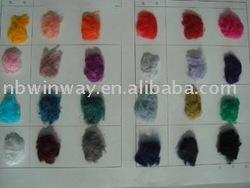 Dyed Linen fibre//flax fiber
