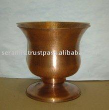 Copper Tulip Vase - Planter