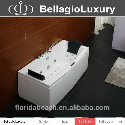 All Lighting Jet Bathtub, massage bathtub,2 person whirlpool Bath tub
