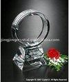 Anel de cristal troféu, lembrança de cristal. Crystal presente de casamento( jby- 069)