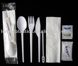 Economic Disposable Plastic Flatware Kits