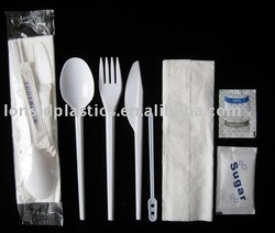 Wrapped Disposable Plastic Disposable Kit