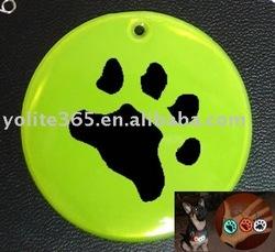 Pet reflective tag dangler/reflective hanger