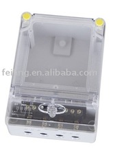 DDS-2029-2 alibaba wholesale single-phase electric meter case transparent cover