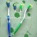 2014 Caliente venta al por mayor nuevo diseño plástico cepillo dental para adultos