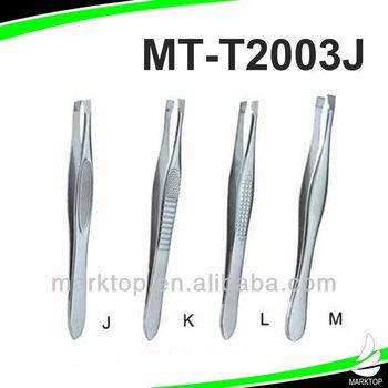 Stainless steel cheap Slanted tweezers