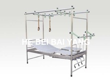 A- 144 New Type Orthopedics Traction Bed with Detachable Legs and Stainless Steel Bed Head
