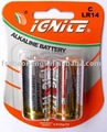 lr14 c bateria alcalina