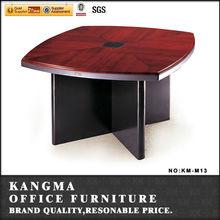 square design used school desks /4 person conference table