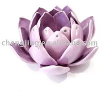 High Quality Factory Manufacture Flower Shaped Art Gift Votive Candle