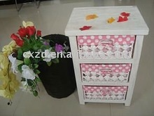 beautiful wicker cabinet You can put some clothes and small adorn article in it