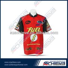 Short sleeve custom men's slim fit t shirt