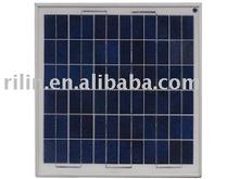 Laminated polycrystalline silicon solar panel 25W