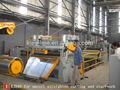 La bobina de acero de desenrollado& que endereza la máquina de corte