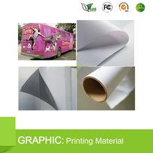 PVC one way vision(Perforated self adhesive Vinyl film)/self-adhesive film for car