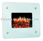 modern wall mounted electric fireplace heater H601-01
