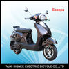 Scooty: Italian style; long driving distance