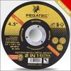 4.5'' 115x1.0x22.2mm cutting disc with MPA EN12413