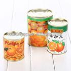 312g/425g/850g/3000g canned mandarin orange segment in light syrup