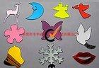 plastic decorative wall mirror stickers, colored acrylic,PS mirror sticker