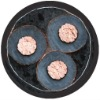 3 core double pvc and armored power cable