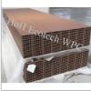 Hollow LIGHT design Grooves Wood Plastic Composite Decking outdoor wood decking /flooring wpc decking Composite Decking
