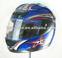 Huadun high quality full face motorcycle helmet, anti-scrathch helmet,personalized helmet,HD-50B