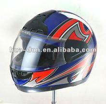 Huadun dirt bike motorcycle helmet ABS shell full face helmet HD-06B