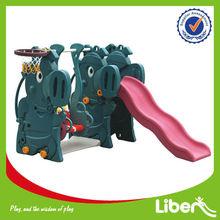 Kid's Rabbit Indoor Slide And Swing LE-HT024