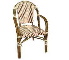 Bamboo -like Rattan Side Chair garden furniture poland armrest chair