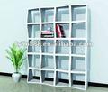 Estante de madeira, pisos decorativos estante/prateleiras cubo/crianças estante de livros