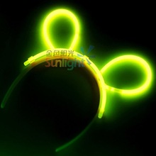 Party Glow Stick Hairpin 5x200mm (EN71, ASTM F963)