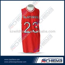 sublimated custom basketball jersey/short