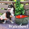 Waterproof foldable protable pet bowl