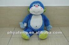 Blue plush monkey