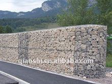 PVC Coated Gabion Box / Stone Cage (factory)