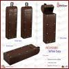 Vintage Decorative Single Leather Wine Carrier(5580)