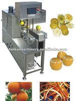 DQ-XP28 high quality Automatic Orange flayer machine/orange peeler/kiwi debarker