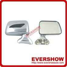 Car Chrome mirror for Hilux 1990 rear view mirror ES7276, 7276A