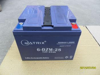 Used Pocket Bike Battery 6-DZM-28
