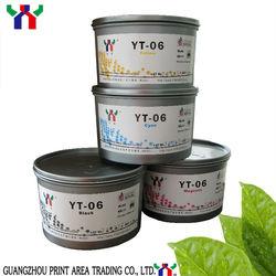 [manufacturer] YT-06 PANTONE for Melamine Crockery Soya Offset Printing Ink