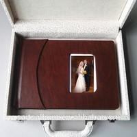 wedding supply photo case album cover wood making