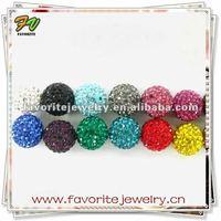 Wholesale shamballa beads crystal pave bead wholesale