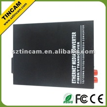 10/100/1000TX To 1000LX Media Converters Fiber to Copper, Single-Mode 40km, SC Connector,Aifon, ethernet video