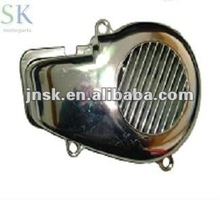fan cover for chrome bws booster motorcycle , made in china and hot sale