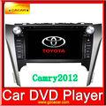 araba dvd player 8 inç toyota camry 2012 tv radyo araba dvd oynatıcı dokunmatik toyota için ekran