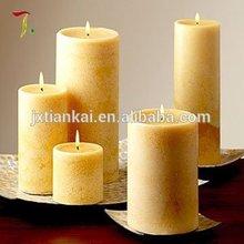 Pilastro della chiesa di candela/wholesale pilastro economico candela bianca