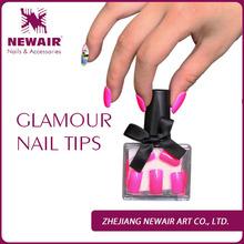 2015 new solid color wholesale false nails
