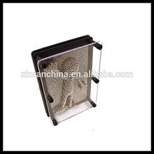 2015 Hot sale fashion metal 3D Pin Art--Gift for friends,classmates metal pin art China supplier